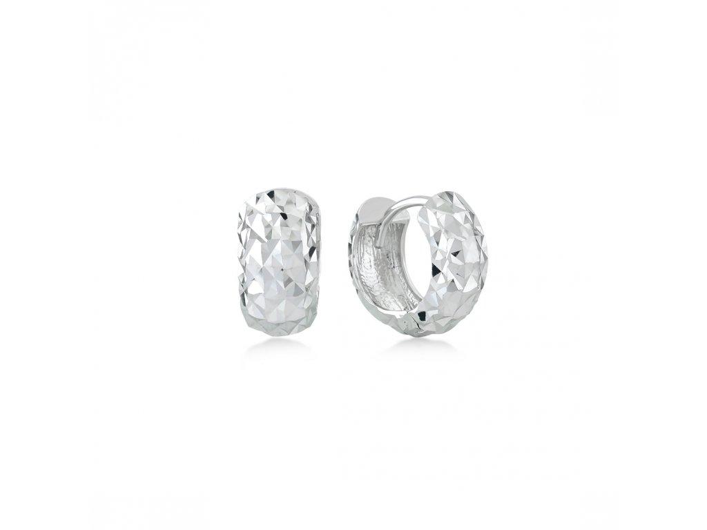 Stříbrné náušnice  LLV06-SER046