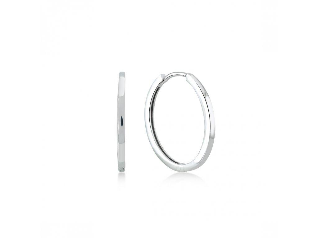 Stříbrné náušnice  LLV06-SER047