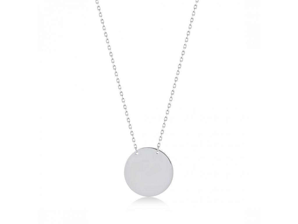 Stříbrný náhrdelník LLV06-SN001