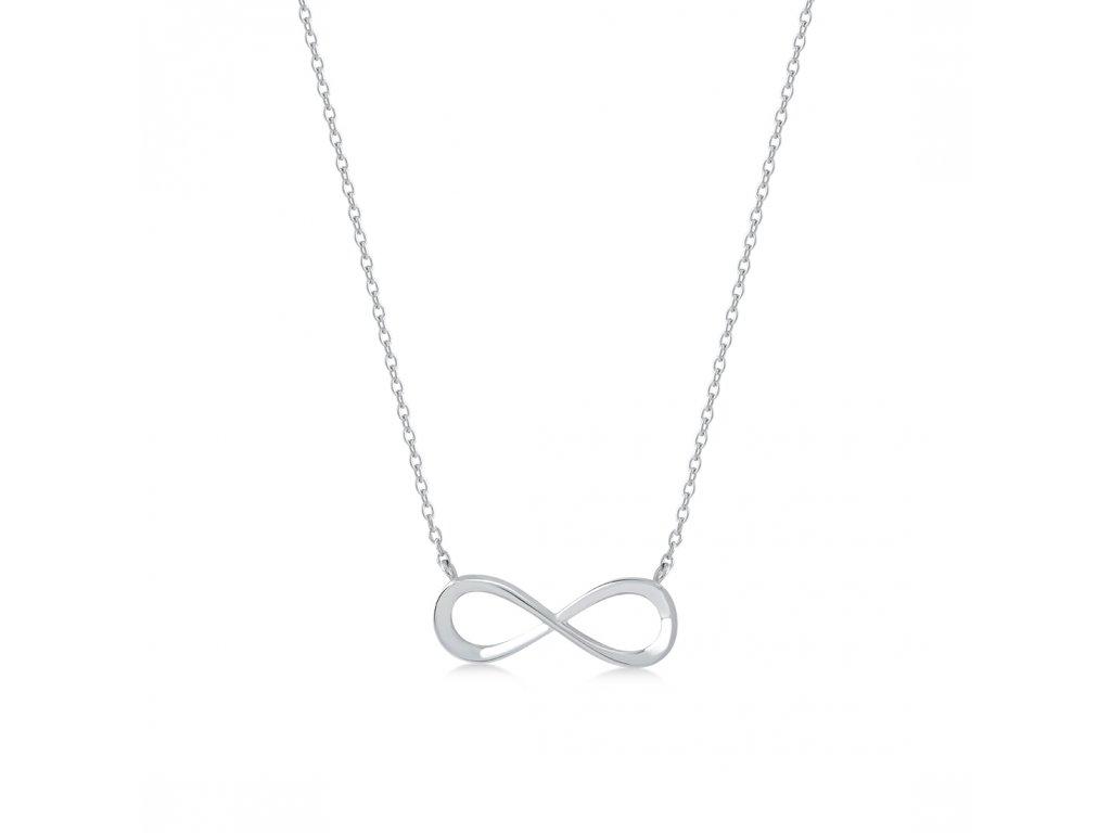 Stříbrný náhrdelník LLV06-SN002
