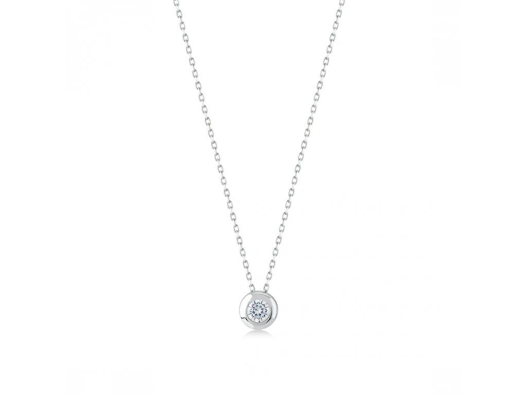 Stříbrný náhrdelník LLV06-SN003