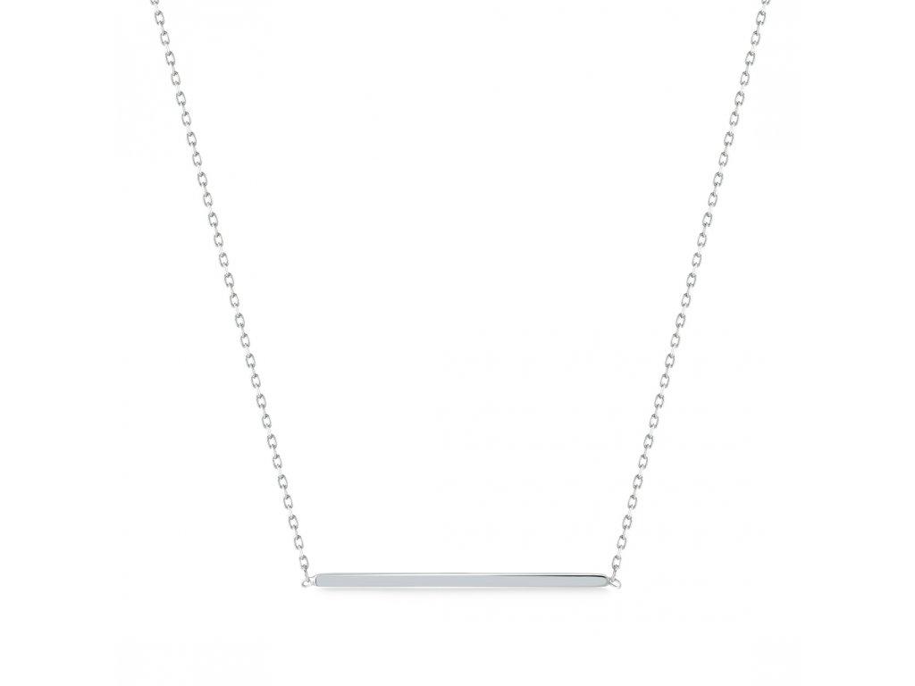 Stříbrný náhrdelník LLV06-SN010