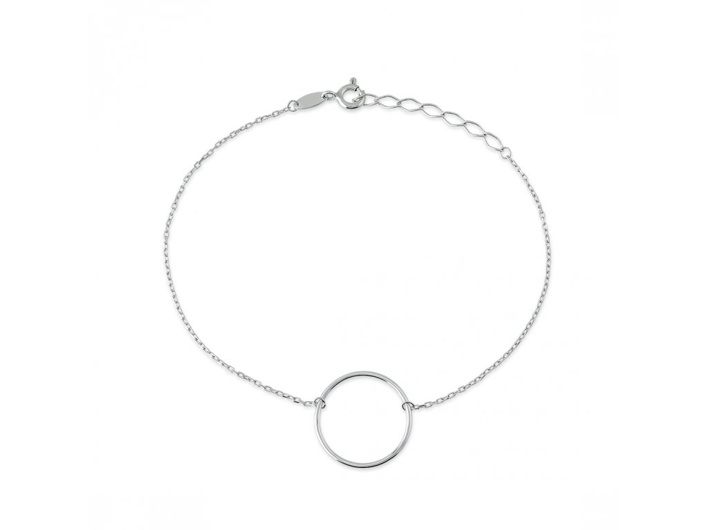 Stříbrný náramek LLV06-SB001