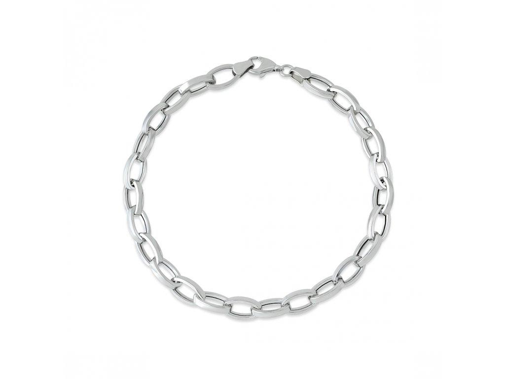 Stříbrný náramek LLV06-SB004
