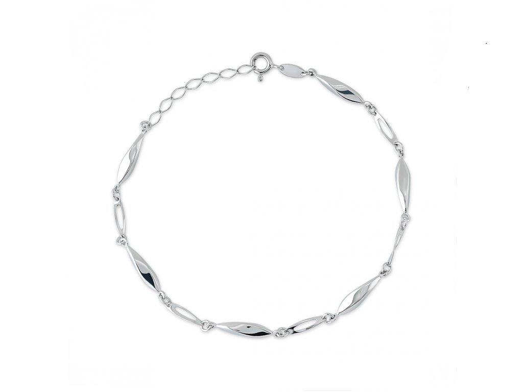 Stříbrný náramek LLV06-SB006