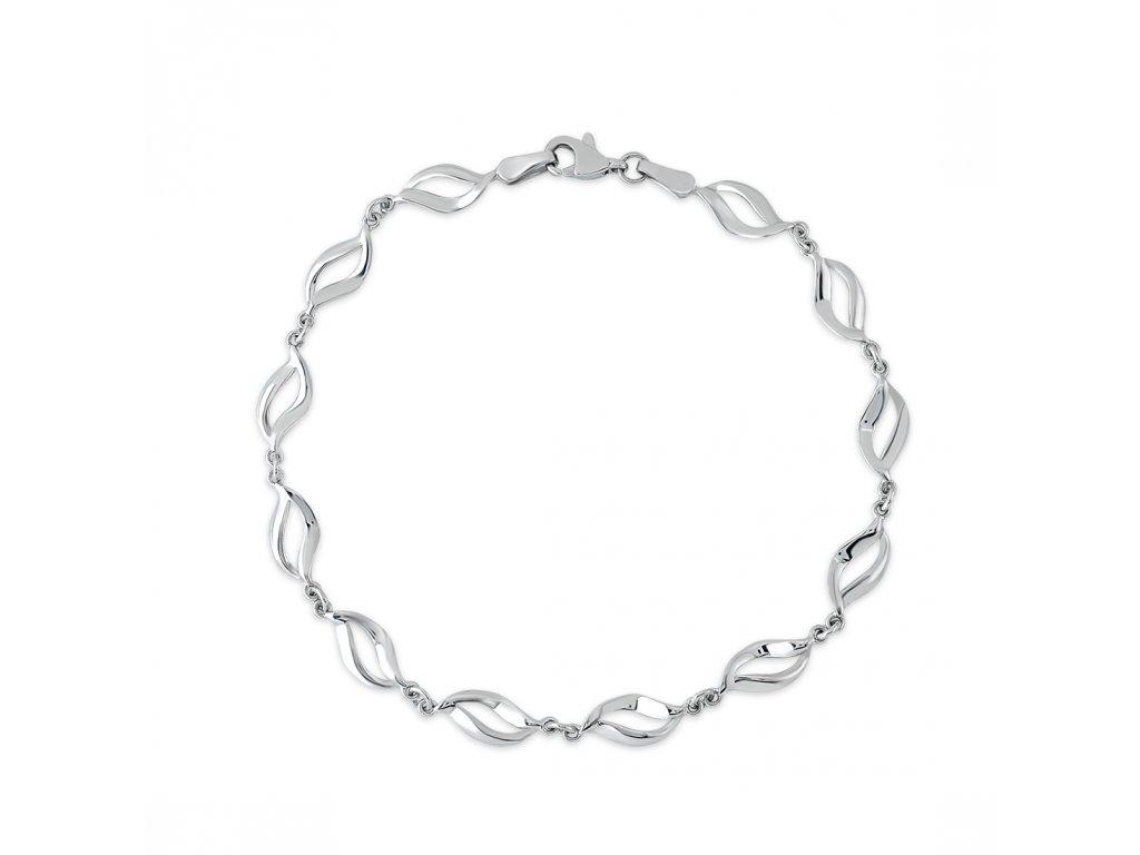 Stříbrný  náramek LLV06-SB008