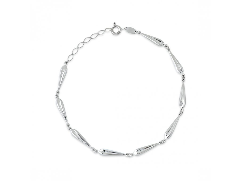 Stříbrný náramek LLV06-SB0010