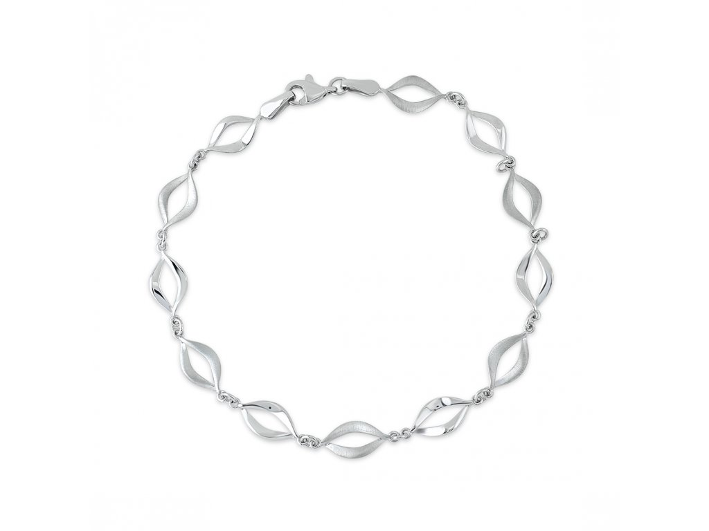 Stříbrný náramek LLV06-SB0012