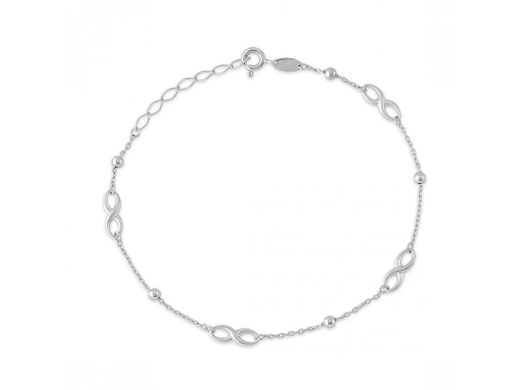 Stříbrný náramek LLV06-SB0017