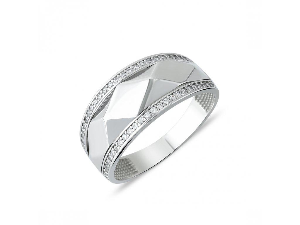 Stříbrný prsten LLV06-SR019