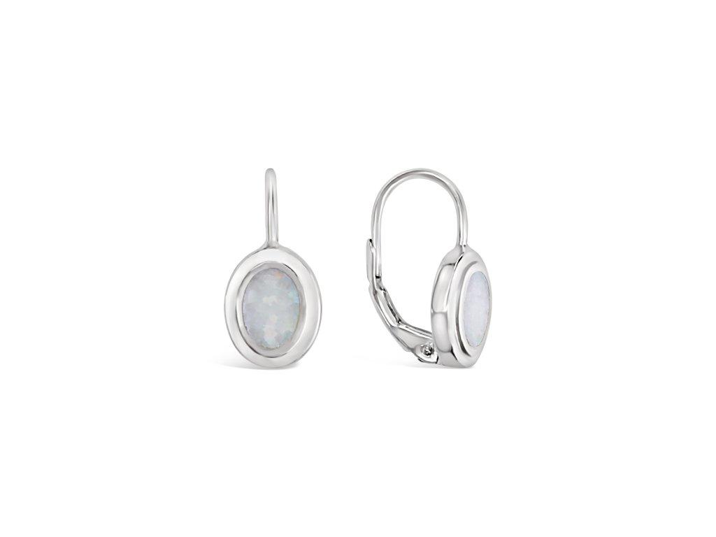 Stříbrné náušnice LLV31-SSER007