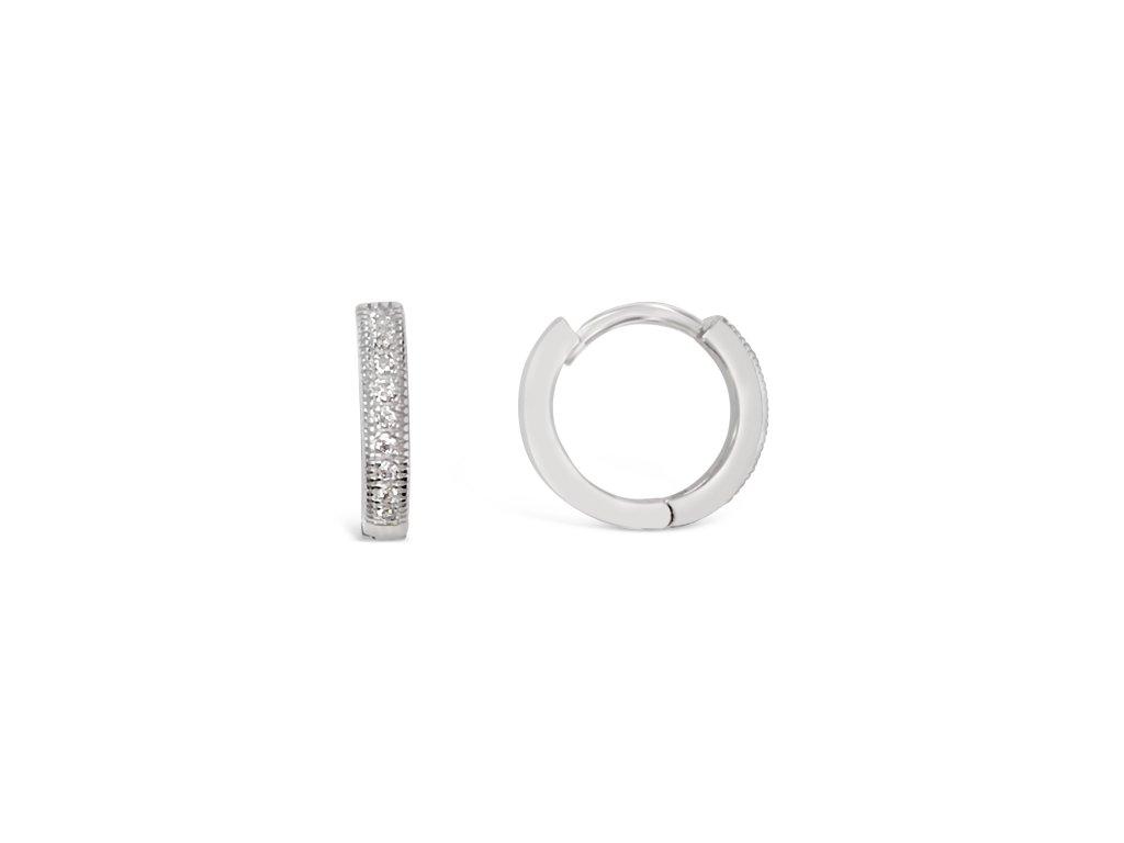 Stříbrné náušnice LLV31-SER039