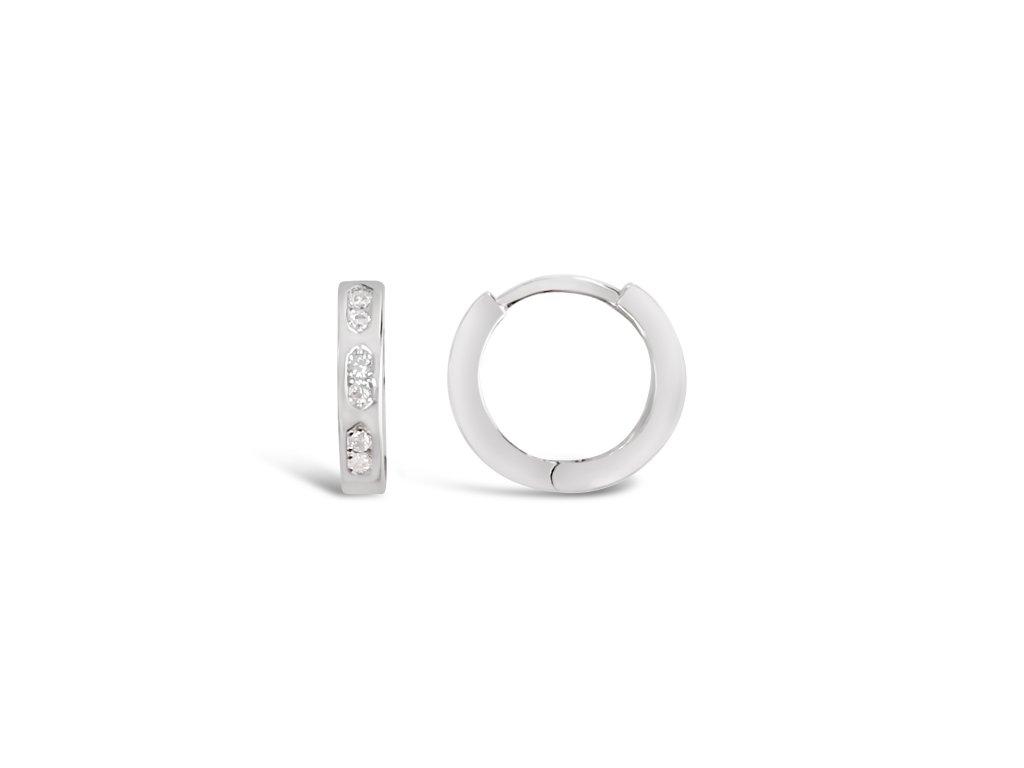 Stříbrné náušnice LLV31-SER042