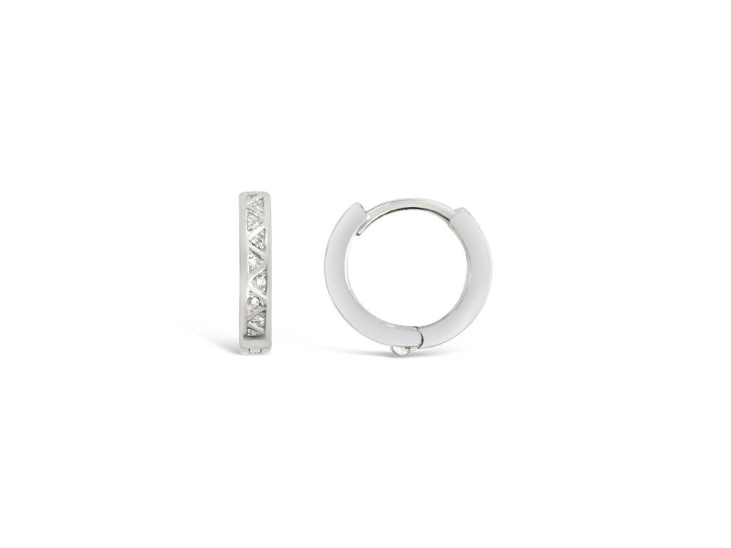 Stříbrné náušnice LLV31-SER044