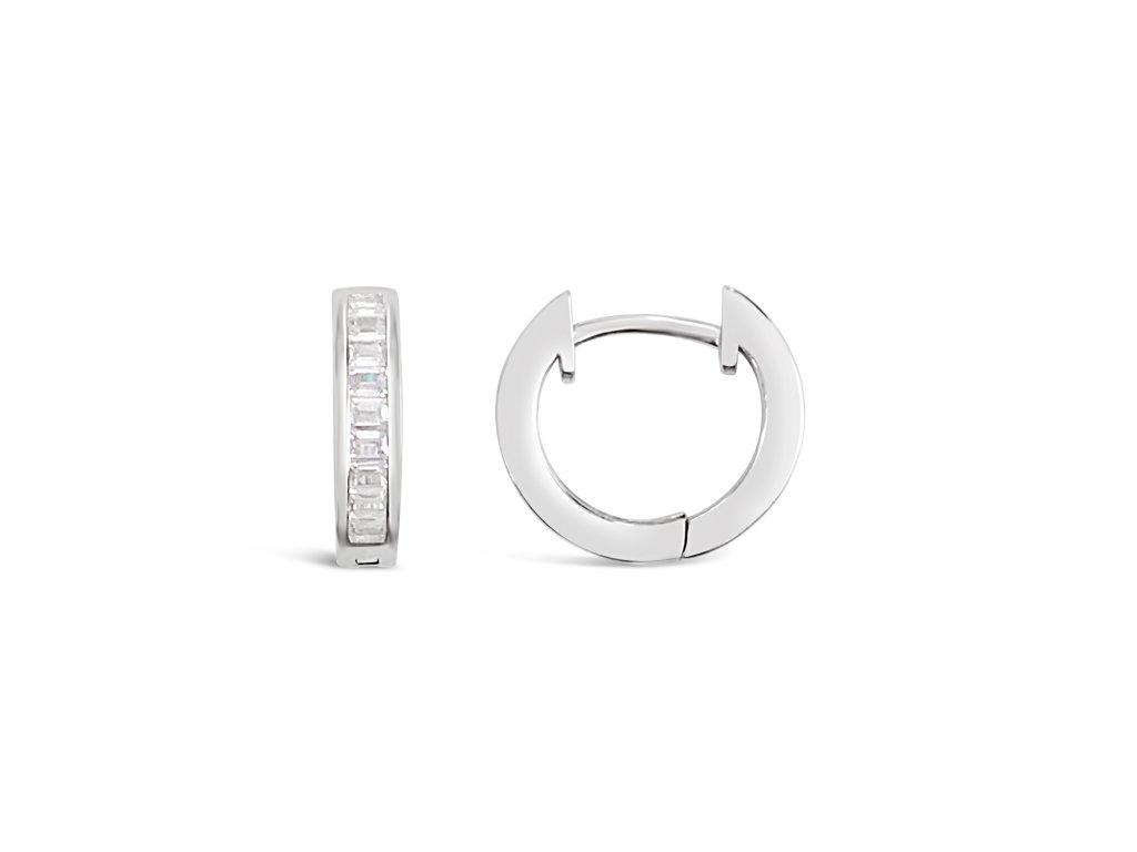 Stříbrné náušnice LLV31-SER047