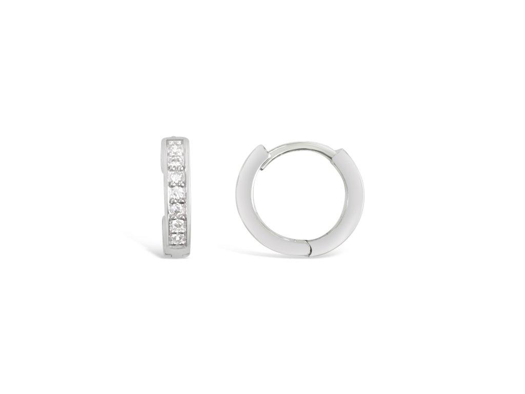Stříbrné náušnice LLV31-SER049