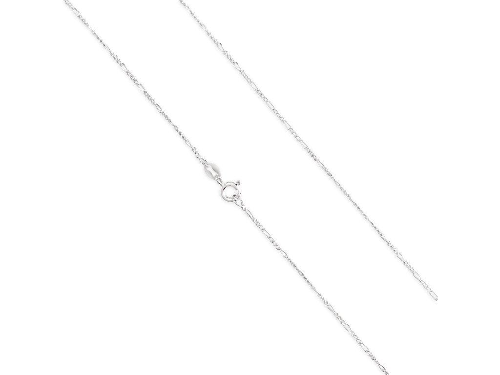 Stříbrné řetízky LLV34-SCH001