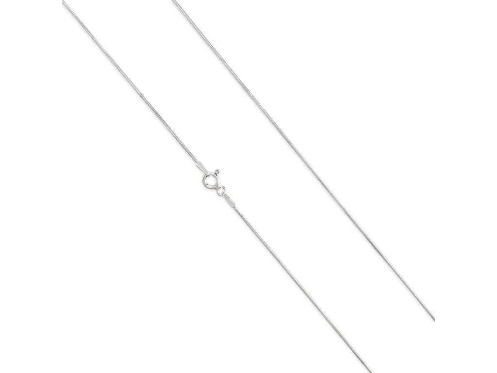 Stříbrný řetízek LLV34-SCH002