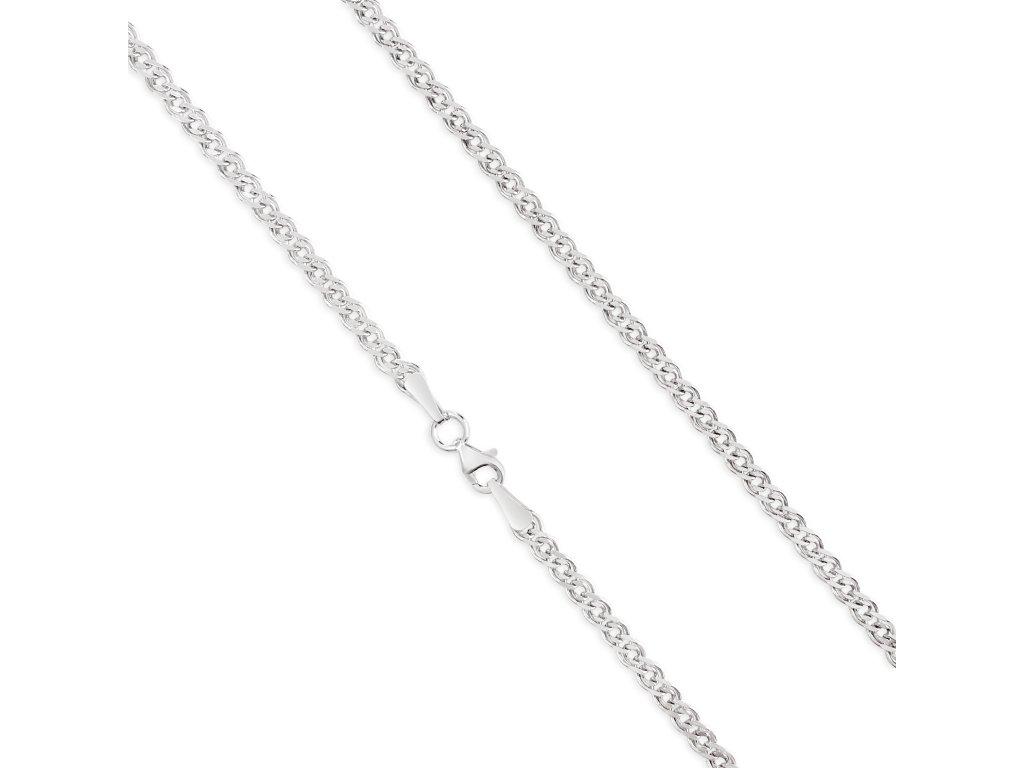 Stříbrný řetízek LLV34-SCH003