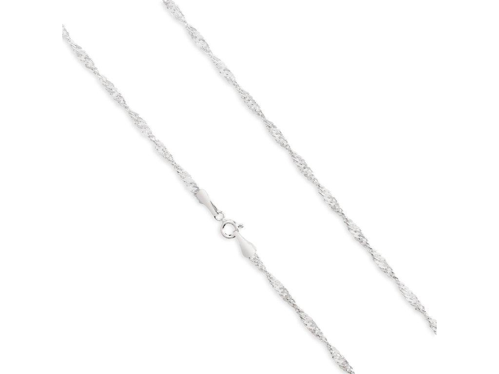 Stříbrné řetízky LLV34-SCH005