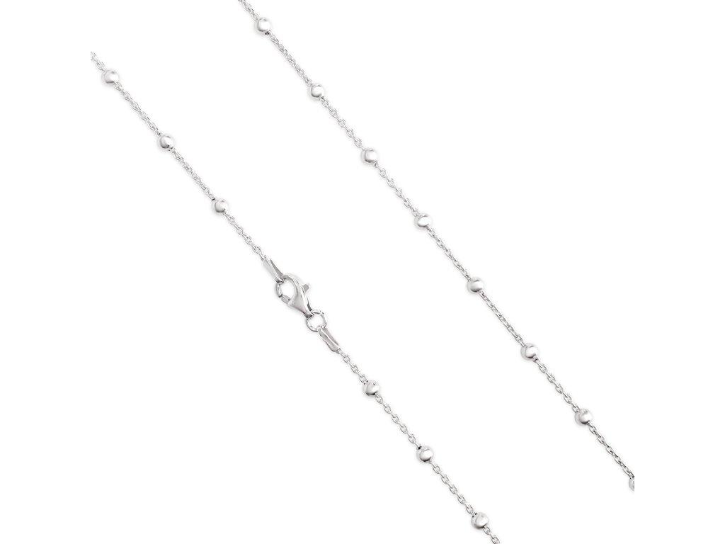 Stříbrný řetízek LLV34-SCH008