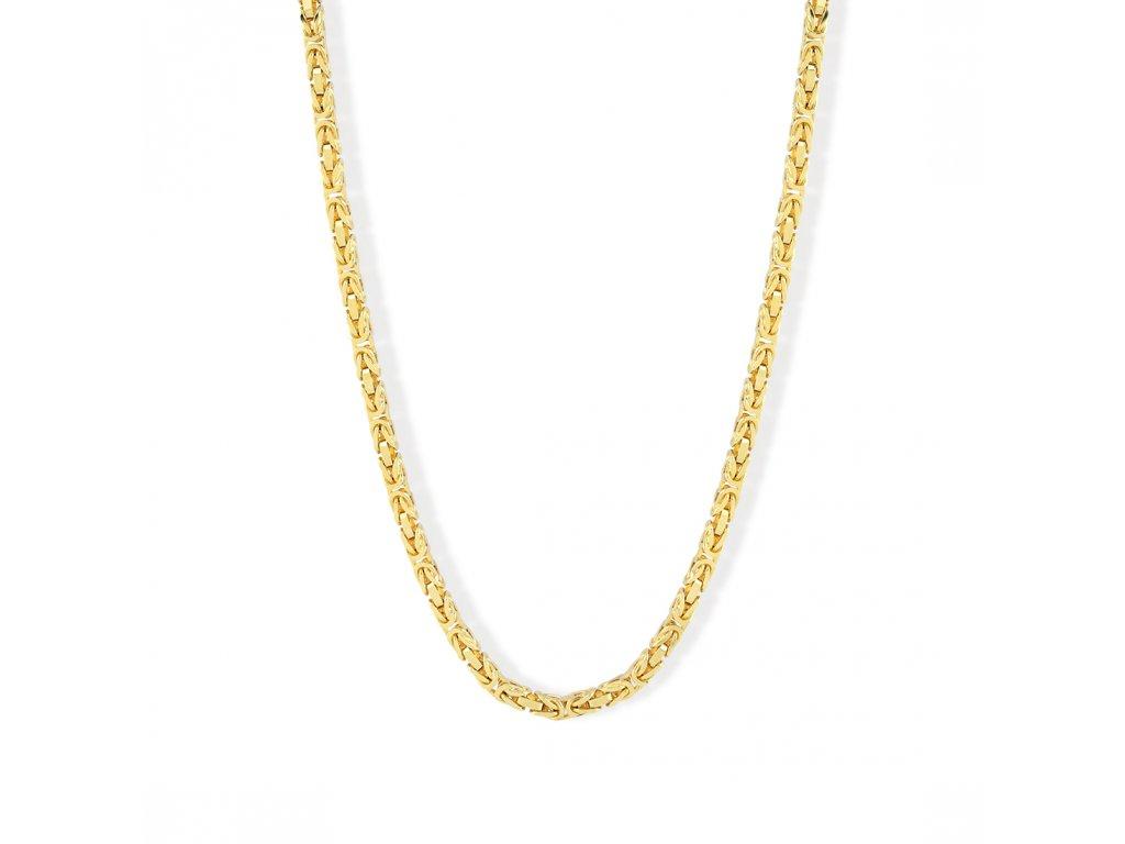 Zlatý řetízek LLV01-GCH005