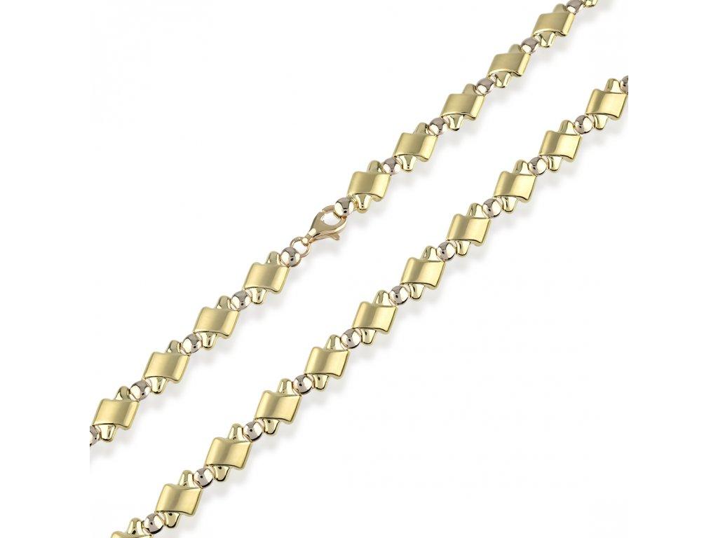 Zlatý náhrdelník LLV22-GCH003