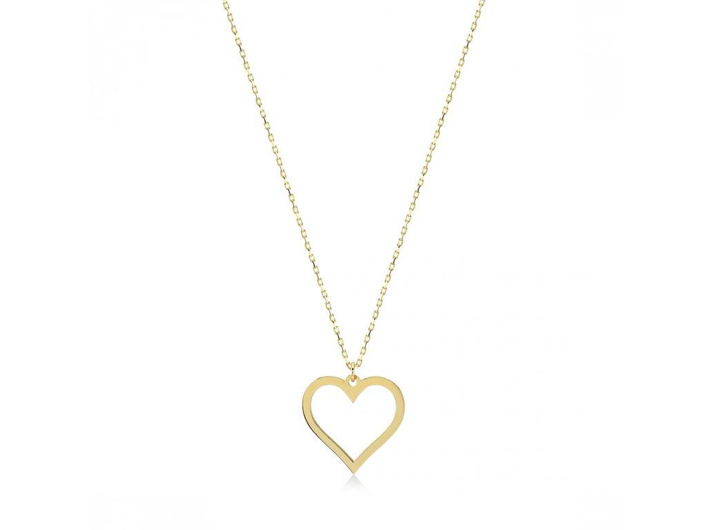 Zlatý náhrdelník LLV31-GN002