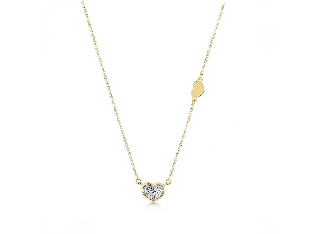 Zlatý náhrdelník LLV22-GN055