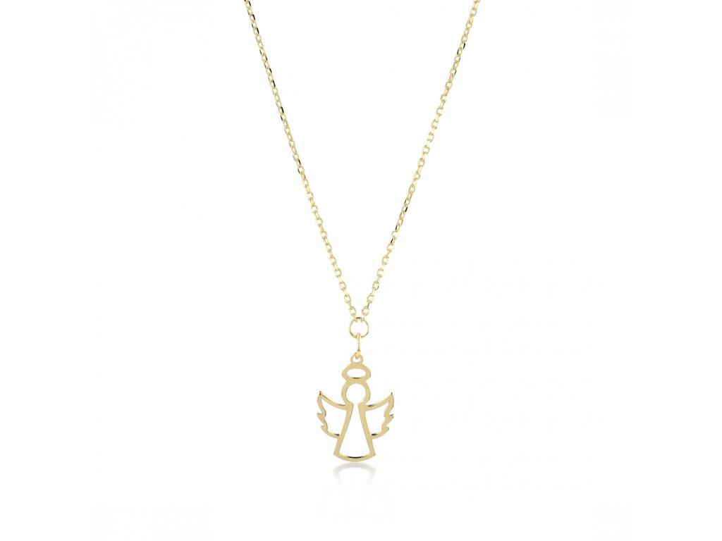 Zlatý náhrdelník LLV22-GN008
