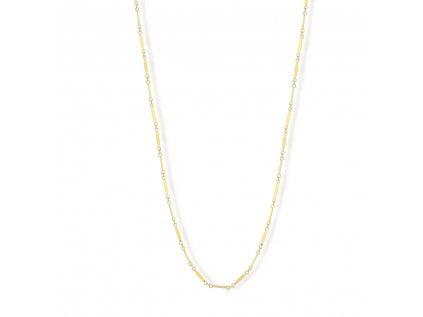 Zlatý náhrdelník LLV22-GN106