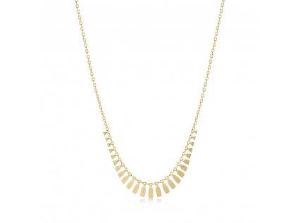 Zlatý náhrdelník LLV22-GN104