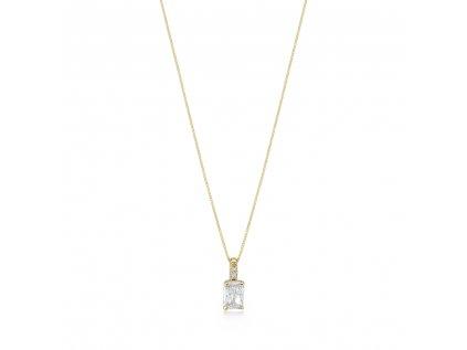 Zlatý náhrdelník LLV22-GN107