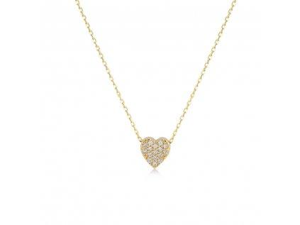 Zlatý náhrdelník LLV11-GN005Y