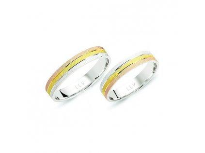 Snubní prsteny F1717E