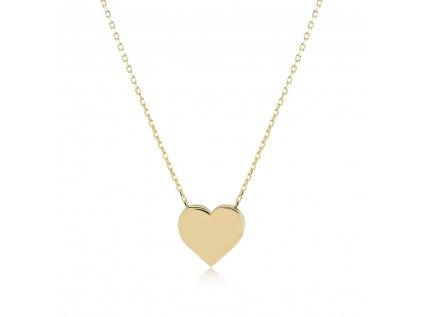 Zlatý náhrdelník LLV11-GN023Y