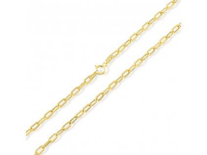 Zlatý řetízek LLV31-GCH025