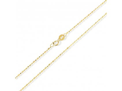 Zlatý řetízek LLV31-GCH046