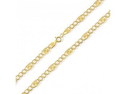 Zlatý řetízek LLV31-GCH044