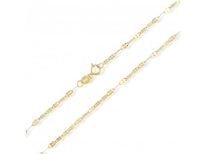 Zlatý řetízek LLV31-GCH045