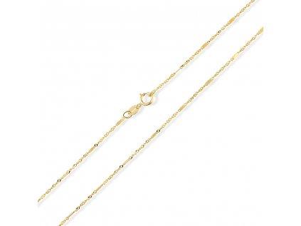 Zlatý řetízek LLV31-GCH048