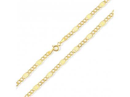 Zlatý řetízek LLV31-GCH051