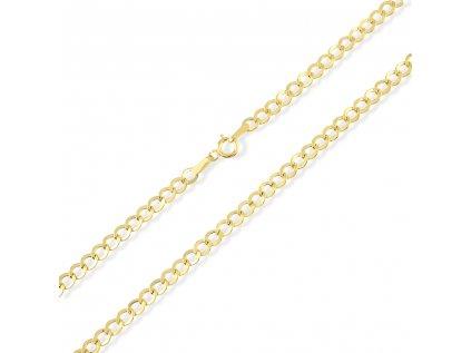 Zlatý řetízek LLV31-GCH056