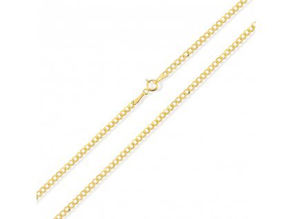 Zlatý řetízek LLV31-GCH055