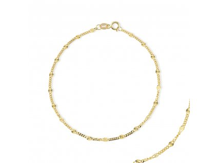 Zlatý náramek LLV31-GB009