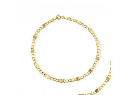 Zlatý náramek LLV31-GB015