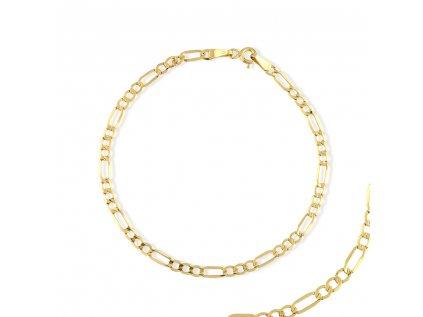 Zlatý náramek LLV31-GB025