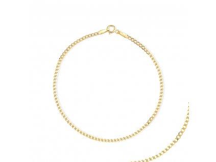 Zlatý náramek LLV31-GB019