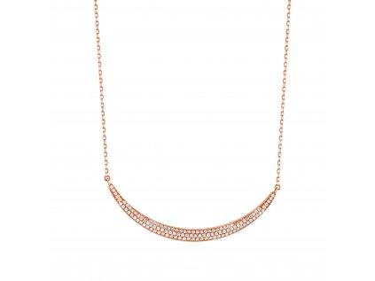 Zlatý náhrdelník s brilianty PFNT1172
