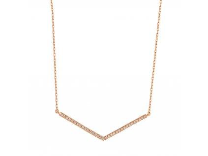 Zlatý náhrdelník s brilianty PFNT1173